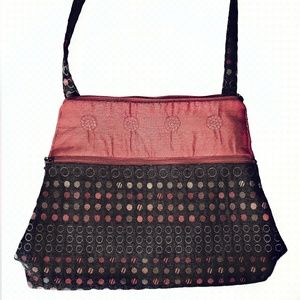 Colorful Boho Purse Made of Tapestry